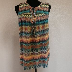 Tribal Laced Front Tank